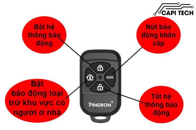 Hệ thống báo động Pingron pr-104gsm
